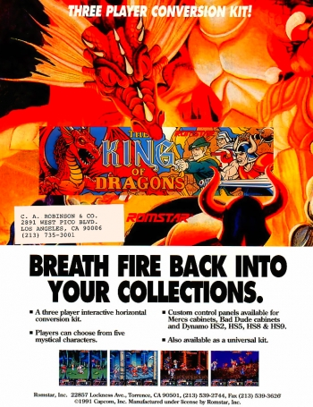 The King of Dragons  Game