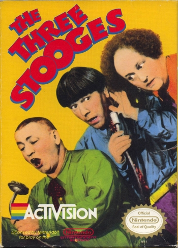 Three Stooges, The  Game