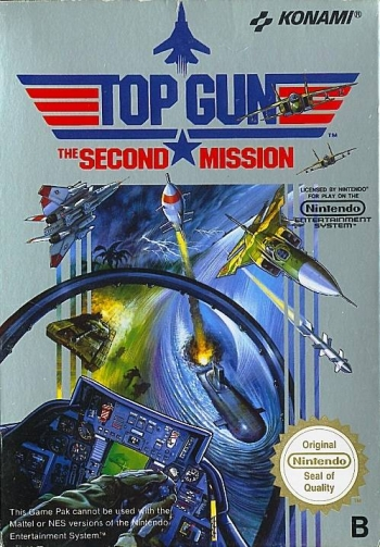 Top Gun - The Second Mission  Game