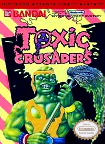 Toxic Crusaders  Game