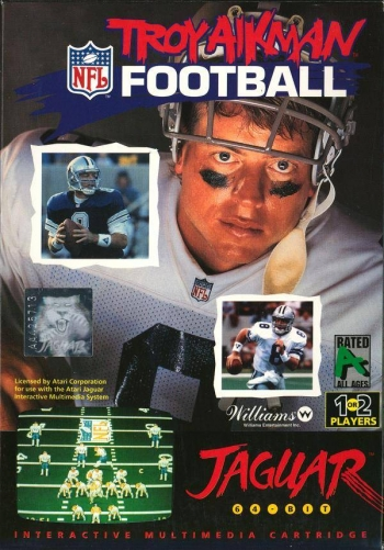 Troy Aikman NFL Football  Game