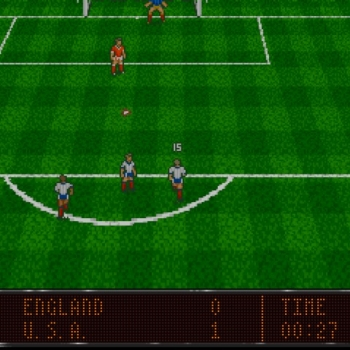 World Soccer '94 - Road to Glory  Game