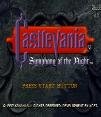 Castlevania: Symphony of the Night - Quality hack ROM