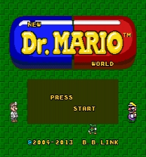 Dr. Mario World Redrawn Game