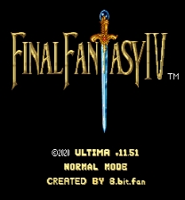Final Fantasy IV - Ultima ROM