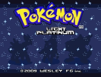 Pokemon - Light PLatinum ROM