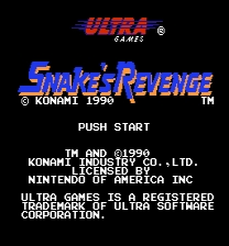 Snake's Revenge MMC5 Patch ROM hack