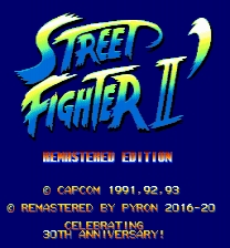 Street Fighter 2 Remastered Edition Game