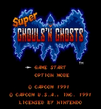 Super Ghouls'n Ghosts Restoration ROM