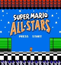 Super Mario All Stars NES ROM