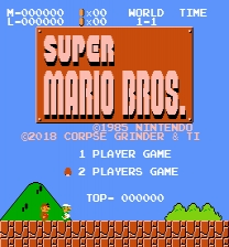 Super Mario Bros. - Two Players Hack ROM