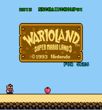 Wario Land SNES Game