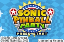 2 in 1 - Sonic Advance & Sonic Pinball Party  ROM