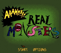 AAAHH!!! Real Monsters  ROM