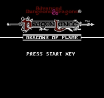 Advanced Dungeons & Dragons - Dragons of Flame  ROM