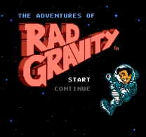 Adventures of Rad Gravity, The  ROM