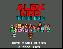 Alex Kidd - High-Tech World  ROM