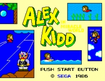 Alex Kidd in Miracle World   ROM