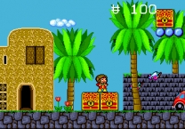 Alex Kidd in the Enchanted Castle Rom