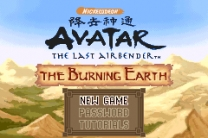 Avatar - The Legend of Aang - The Burning Earth Rom