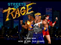 Bare Knuckle - Ikari no Tetsuken ~ Streets of Rage  Rom