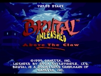 Brutal Unleashed - Above the Claw Rom