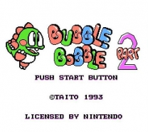 Bubble Bobble Part 2  ROM