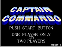 Captain Commando  ROM