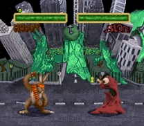 Clay Fighter 2 - Judgment Clay Rom
