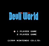Devil World  ROM