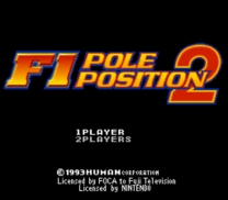 F1 Pole Position 2  ROM