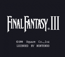 Final Fantasy III  [Hack by SageAcrin v1.06]  ROM