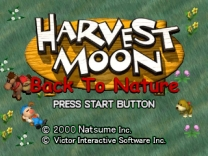 Harvest Moon - Back to Nature [U] ISO[SLUS-01115]Rom