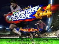 International Superstar Soccer 64  ROM