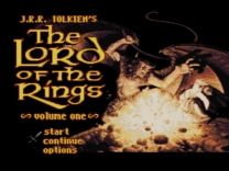 J.R.R. Tolkien's The Lord of the Rings - Volume One  ROM