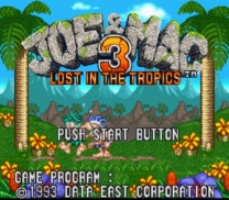 Joe & Mac 3 - Lost in the Tropics    ROM