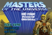 Masters of the Universe - He-Man - Power of Grayskull Rom