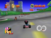 Mickey no Racing Challenge USA  ROM