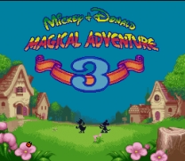 Mickey to Donald - Magical Adventure 3  [En by RPGOne v1.1]  ROM