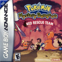 Pokemon Mystery Dungeon - Red Rescue TeamRom