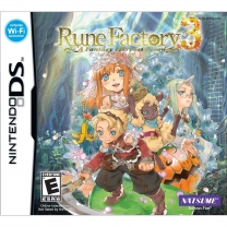 Rune Factory 3 - A Fantasy Harvest Moon  ROM