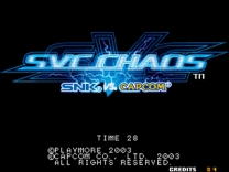 SNK vs. Capcom: SVC Chaos   ROM