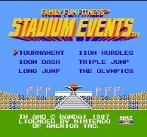 Stadium Events  ROM