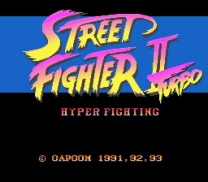 Street Fighter II Turbo - Hyper Fighting   ROM