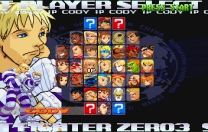 Street Fighter Zero 3  ISO ROM