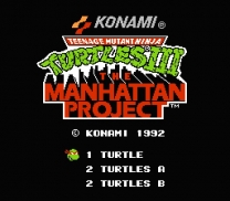 Teenage Mutant Ninja Turtles III - The Manhattan Project  ROM