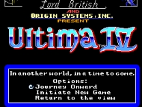 Ultima IV - Quest of the Avatar   ROM