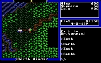 Ultima - Warriors of Destiny  ROM