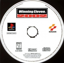 World Soccer Winning Eleven 2002  ISO[SLPM-87056]Rom