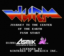 Wurm - Journey to the Center of the Earth!  ROM